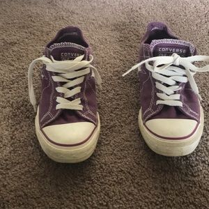 Converse one star tennis shoes